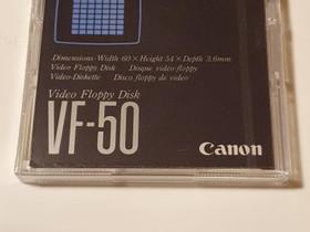 Canon VF-50 Video Floppy Disk , Muu valokuvaus, Kamerat ja valokuvaus, Pirkkala, Tori.fi