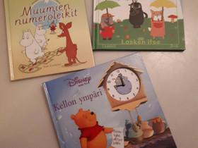 Opi laskemaan & kello, Lastenkirjat, Kirjat ja lehdet, Vantaa, Tori.fi