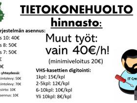 Tietokonehuolto, Palvelut, Laukaa, Tori.fi