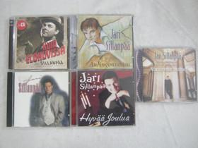 Jari Sillanpää: viisi cd:tä, Imatra/posti, Musiikki CD, DVD ja äänitteet, Musiikki ja soittimet, Imatra, Tori.fi