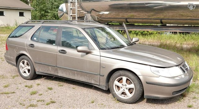 Saab 9-5 linear -03 varaosiksi