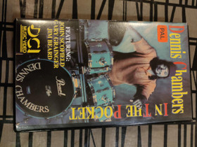 Dennis Chambers in the pocket VHS Video rumpukoulu, Rummut, Musiikki ja soittimet, Oulu, Tori.fi