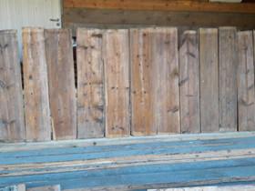 Vanhaa lattialautaa lattian ja pöytien tekoon, Ikkunat, ovet ja lattiat, Rakennustarvikkeet ja työkalut, Sastamala, Tori.fi