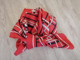 HUIVI 65 x 69 cm, puna-musta-valk,harmaa,, hyvä, Muut asusteet, Asusteet ja kellot, Parikkala, Tori.fi