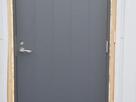 Uusi harmaa ulko-ovi, Ikkunat, ovet ja lattiat, Rakennustarvikkeet ja työkalut, Jämsä, Tori.fi
