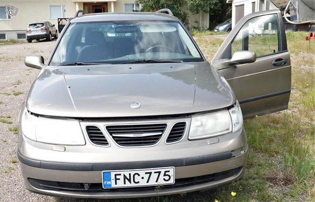 Saab 9-5 linear -03 varaosiksi 3