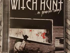 Witch Hunt - As Priorities Decay CD, Musiikki CD, DVD ja äänitteet, Musiikki ja soittimet, Tampere, Tori.fi