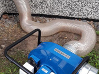 Ok-talon ilmastointikanavien puhdistus välineet