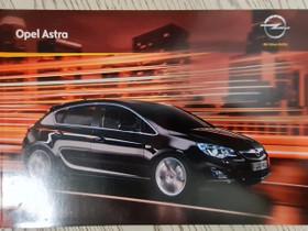 Opel Astra -esite 2010, Harrastekirjat, Kirjat ja lehdet, Lappeenranta, Tori.fi