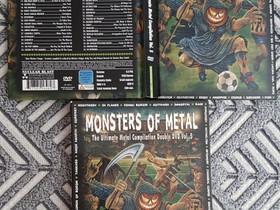 Monsters Of Metal Vol. 5 2xDVD, Musiikki CD, DVD ja äänitteet, Musiikki ja soittimet, Tampere, Tori.fi
