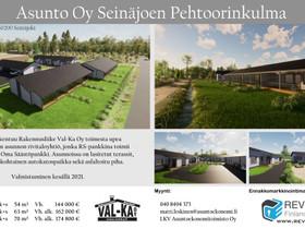 As Oy Seinäjoen Pehtoorinkulma, 54m2,63 m2 ja 70m2, Myytävät asunnot, Asunnot, Seinäjoki, Tori.fi