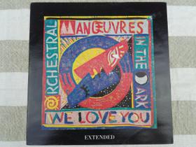 Orchestral maroeuvres in the dark - We love you, Musiikki CD, DVD ja äänitteet, Musiikki ja soittimet, Loppi, Tori.fi