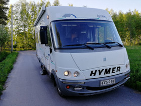 Hymer B574 hyvillä varusteilla, Matkailuautot, Matkailuautot ja asuntovaunut, Kempele, Tori.fi