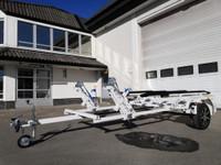 Tekno-Trailer 2 Jet 750L Tupla jettitraileri valk