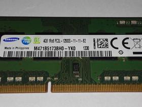 M471B5173BH0-YK0 4GB 204Pin SO-DIMM DDR3L, Komponentit, Tietokoneet ja lisälaitteet, Oulu, Tori.fi
