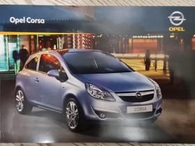 Opel Corsa -esite 2009, Harrastekirjat, Kirjat ja lehdet, Lappeenranta, Tori.fi