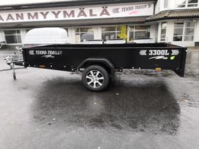 Tekno-Trailer 3300L-E musta 330x150x36, Peräkärryt ja trailerit, Auton varaosat ja tarvikkeet, Kauhava, Tori.fi