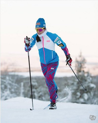 Krista Pärmäkoski: lämmittelyasu ja pipo