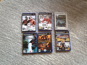 Sony PS2 peli v-rally 3 ym PlayStation 2, Pelikonsolit ja pelaaminen, Viihde-elektroniikka, , Tori.fi