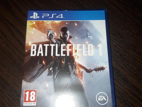 Battlefield 1 ps4, Pelikonsolit ja pelaaminen, Viihde-elektroniikka, Keuruu, Tori.fi