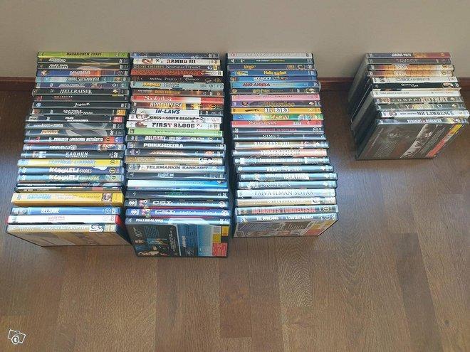 DVD levyt 85 kpl