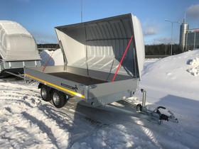 Eduard 2700kg 4 x 1,8m lavalla & kuomulla, Peräkärryt ja trailerit, Auton varaosat ja tarvikkeet, Tampere, Tori.fi