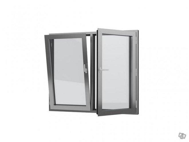 MB-70HI- hyvin lämpöeristävät alumiini-ikkunat