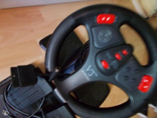 Playstation ratti+polkimet