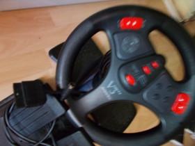 Playstation ratti+polkimet, Pelikonsolit ja pelaaminen, Viihde-elektroniikka, Tampere, Tori.fi