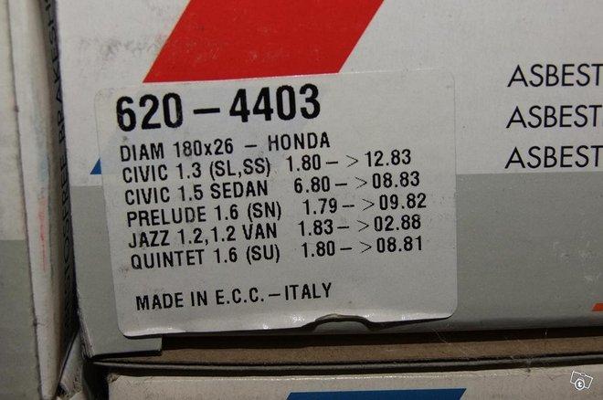 Honda civic/jazz/prelude 1979-88 jarrukengät