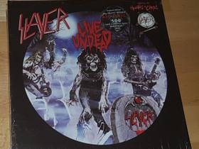 Slayer - Live Undead + Haunting The Chapel red LP, Musiikki CD, DVD ja äänitteet, Musiikki ja soittimet, Tampere, Tori.fi