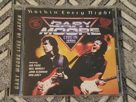 Gary Moore - Rockin' Every Night Live In Japan CD, Musiikki CD, DVD ja äänitteet, Musiikki ja soittimet, Tampere, Tori.fi