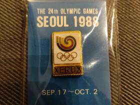 Seoul 1988 Xerox Olympic games pinssi, Muu keräily, Keräily, Vihti, Tori.fi