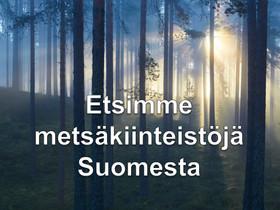 Metsä, Metsätilat ja maatilat, Kuopio, Tori.fi