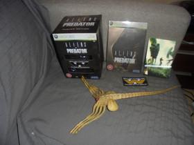 XBOX 360 peli Aliens vs Predator, Pelikonsolit ja pelaaminen, Viihde-elektroniikka, Kotka, Tori.fi