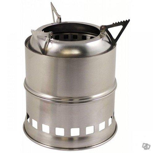 Fox outdoor woodgas stove risukeitin