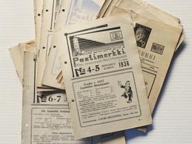 Postimerkki-lehtiä 1930-luvulta, Lehdet, Kirjat ja lehdet, Kajaani, Tori.fi