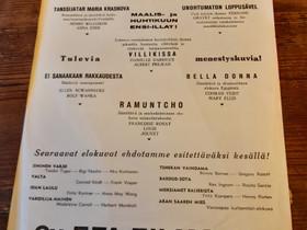Elokuvamainos vuodelta 1933, Muu keräily, Keräily, Kangasala, Tori.fi