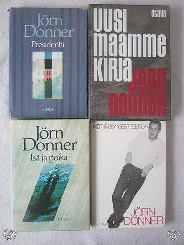Jörn Donner neljä kirjaa, Imatra/posti