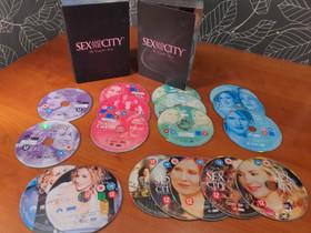 Sex and the city 1 - 6 (DVD), Elokuvat, Jyväskylä, Tori.fi
