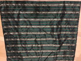 Vihreä paksu kiiltävä kangas 1,00 x 3,60 m, Käsityöt, Hattula, Tori.fi