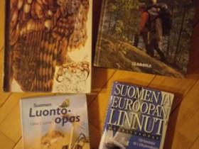 Luonto-, retkeily- ja lintukirjat, Harrastekirjat, Kirjat ja lehdet, Lempäälä, Tori.fi