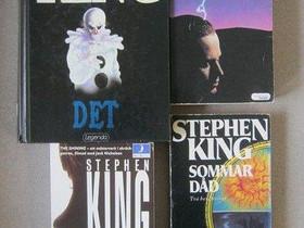 Stephen King på svenska, fyra böcker, Kaunokirjallisuus, Kirjat ja lehdet, Imatra, Tori.fi