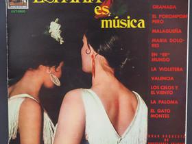 Espana es musica LP Erinomainen kunto, Musiikki CD, DVD ja äänitteet, Musiikki ja soittimet, Tampere, Tori.fi