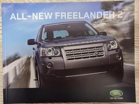 Land Rover Freelander 2 -esite 2006, Harrastekirjat, Kirjat ja lehdet, Lappeenranta, Tori.fi