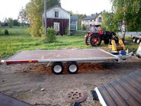 Temared Carkeeper 4520s kippaava peräkärry 2700 kg, Kuljetuskalusto, Työkoneet ja kalusto, Pedersören kunta, Tori.fi