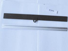Alumiini- ja muovilista ilman tarraa 47,5cm, Muu sisustus, Sisustus ja huonekalut, Rauma, Tori.fi