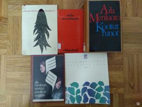 Aila Meriluoto viisi runokirjaa, Imatra/posti, Muut kirjat ja lehdet, Kirjat ja lehdet, Imatra, Tori.fi