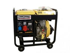 Glanspower jm6500-3 diesel kolmivaihegeneraattori, Muut koneet ja tarvikkeet, Työkoneet ja kalusto, Harjavalta, Tori.fi