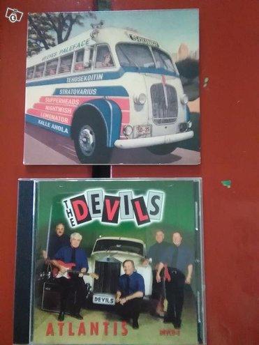 Cd-levyt; the Devils, 69eyes Paleface Soundi